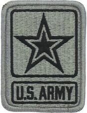 Army Of One Star ACU Patch with Fastener (PV-ARMY)