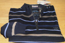 Neuf paul and shark havane yacht club laine pull cool touch light taille 4XL wow!!!