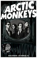 ARCTIC MONKEYS KROQ STUDIOS LOS ANGELES 2013 PROMO POSTER