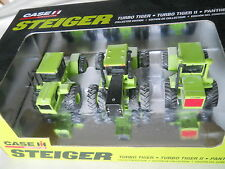 ERTL Steiger Turbo Tiger, Turbo Tiger II, Panther III Collector Edition Set 1/64
