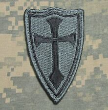 CROSS CRUSADER SHIELD NAVY SEAL DEVGRU ARMY BADGE ACU DARK VELCRO® BRAND PATCH