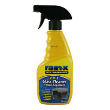Rain X 2in1 Glass Cleaner & Rain Repellent 500ml Trigger Spray Car Windscreen