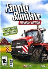 Farming Simulator Titanium Edition (PC/Mac 2014) BRAND NEW SEALED SHIPS NEXT DAY