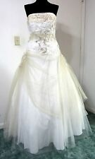 JESSICA 12 PROM Dress Ball Gown Ivory Tulle Evening Formal PAGEANT Petticoat NWT