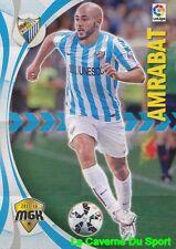 371 AMRABAT MOROCCO MALAGA.CF Galatasaray CARD MEGACRACKS 2016 PANINI