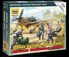 Zvezda        1:72 GERMAN LUFTWAFFE GROUND CREW  ZVE6188