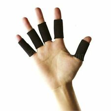 10x Elastic Finger Support Arthritis Protector Brace Basketball Sports Hand Aid