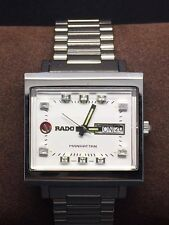 Rado Manhattan Automatic Day/Date White Dial Swiss Made Excellent Condition