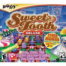 Sweet Tooth Deluxe PC Games Windows 10 8 7 Vista XP Computer candy crush match