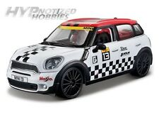 MAISTO 1:24 ALL STARS MINI COUNTRYMAN DIE-CAST BLACK & WHITE 31367