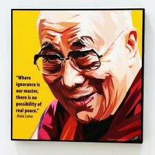 Dalai Lama canvas quotes wall decals photo painting framed pop art poster