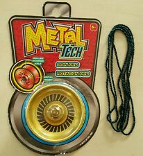 New Metal Tech Responsive Yoyo Gold Metal Body, Roller Bearing Axle Spin Pro