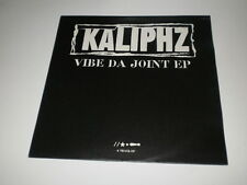 "KALIPHZ - VIBE DA JOINT EP - 12"" FFRR RECORDS - MADE IN UK - NM/EX- //GANGSTA HH"