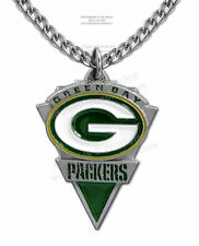 """GREEN BAY PACKERS NECKLACE for MALE or FEMALE - 24"""" CHAIN - NFL FREE SHIP #CA*"""