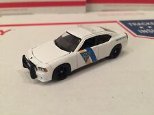 1:64 Custom 2010 Dodge Charger NJ Police State Trooper DCP!