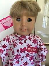 "American Girl Pleasant Company  Kirsten 18"" Doll Just Home From Hospital! EUC!"