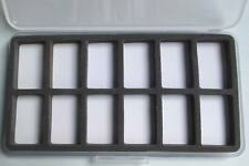 BOITE MOUCHES 12 cases ULTRAPLATE 185x103x13 87g foam fly box fishing