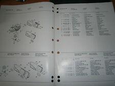 STIHL aspirateur SE50 - SE90 : catalogue pièces 09/1997
