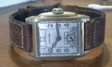 Vintage men's HAMILTON 987F wristwatch, H 6/0 WADSWORTH GF case, runs good 3G