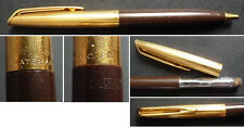 Ancien stylo porte-mine WATERMAN et SHEAFFER vers 1960