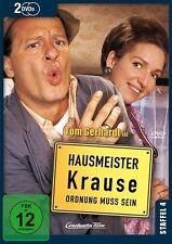 HAUSMEISTER KRAUSE - ORDNUNG MUSS SEIN - STAFFEL 4 - TOM GERHARDT - 2 DVD NEU