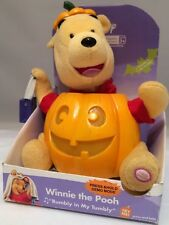 """Disney Gemmy 2004 Halloween Winnie the Pooh Singing """"Rumbly in My Tumbly"""" Rare"""
