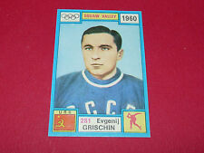 281 GRISCHIN 1960 HIVER PANINI OLYMPIA 1896-1972 JEUX OLYMPIQUES OLYMPIC GAMES