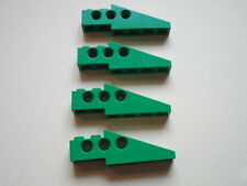 Lego 4 briques tech pointues verts set 8479 3005 8213 / Technic Slope Long