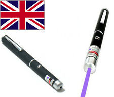 NEW PURPLE ULTRAVIOLET LASER LAZER POINTER PEN NEXT GENERATION 1mW 405nm
