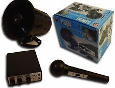 NEW 12V Car Van Siren & Microphone Horn Novelty Tones Horns & Animal Sounds