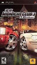 Midnight Club 3: DUB Edition (Sony PSP, 2005) DISC ONLY!!