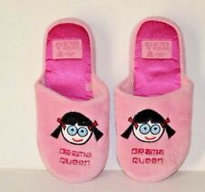 DAVID and GOLIATH Wendy Sz XL 4 5  Girls Womens Slippers Shoes Drama Queen Pink
