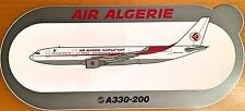 AIR ALGERIE, Airbus A330-200, Original, High Quality Print, new, HIGHLY RARE !!!