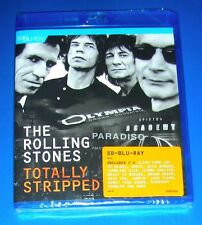 THE ROLLING STONES, Totally Stripped, SD Blu Ray, SEALED, 2016