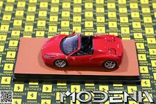 Original Ferrari 458 Coupe rosso nero 1 Modellauto 1:43 MR Collection wie BBR