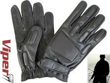 VIPER TACTICAL PATROL LEATHER GLOVES PAINTBALL HIKING Medium