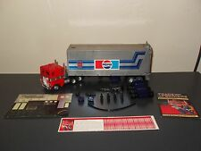 transformers g1 optimus prime 100% complete pepsi version