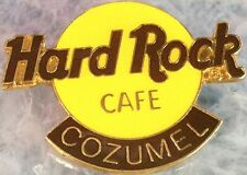 Hard Rock Cafe COZUMEL 1990s Large Classic HRC Logo PIN 3LT - HRC Catalog #2115