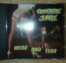 SALE Concrete Jungle - Wear and Tear CD hair metal glam wild boyz indie SLEAZE