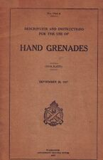 ESERCITO USA - Hand Grenades 1917 (1741A) Manual - DVD