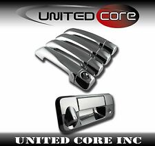 07-13 Toyota Tundra CrewMax Chrome Door Handle Cover + Chrome Tailgate Handle