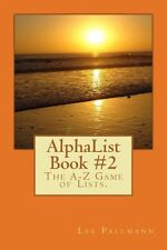 NEW Alphalist Book #2: The A-Z Game of Lists. by Lee Pallmann Paperback Book (En