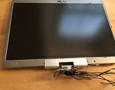 HP Elitebook 2730p OEM Complete Matte LCD Screen Assembly 12.1 WITH HINGES