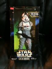 """1997 Star Wars Action Collection 12"""" AT-AT Driver Collectable Figure"""