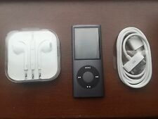 Apple iPod nano 4th Generation Black (8GB) Mint Condition