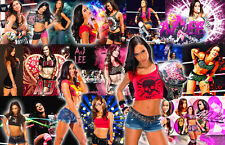 AJ Lee (WWE) Collage Poster