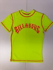 "Billabong Girl's S/S Rashguard ""Liz"" NYE - Small - Reg $52"