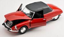 Spedizione LAMPO CITROEN ds19 Decappottabile Cabrio dal 1961 ROSSO/RED 1:24 Welly NUOVO OVP
