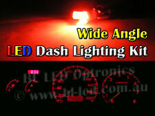 Subaru Impreza WRX MY99 MY00 Red LED Dash Cluster Light Kit