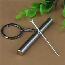Creative refined 999 Silver Toothpick Simple Carry Metal Toothpick Boxes XD